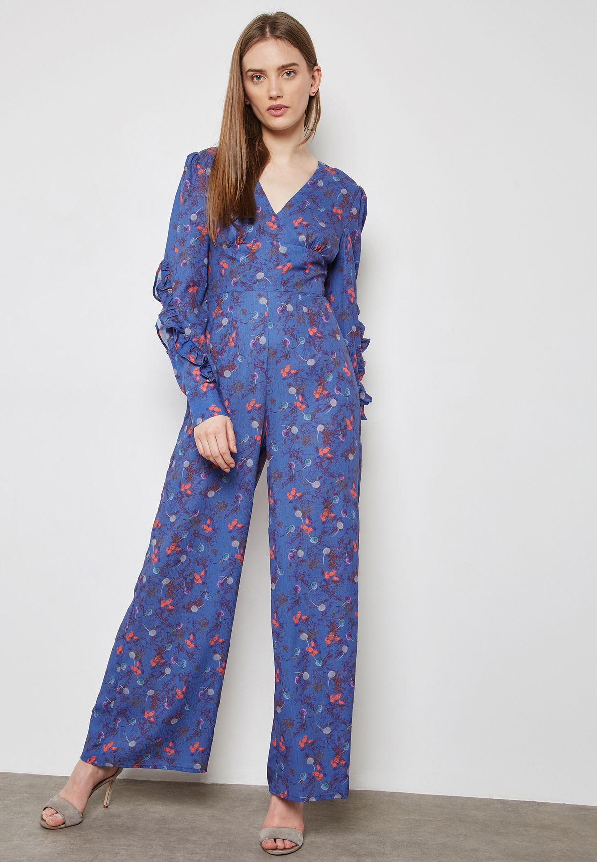 52fe2b0fa6fd Shop Lost Ink prints Printed Jumpsuit 1001115150590040 for Women in Bahrain  - LO956AT94LYB