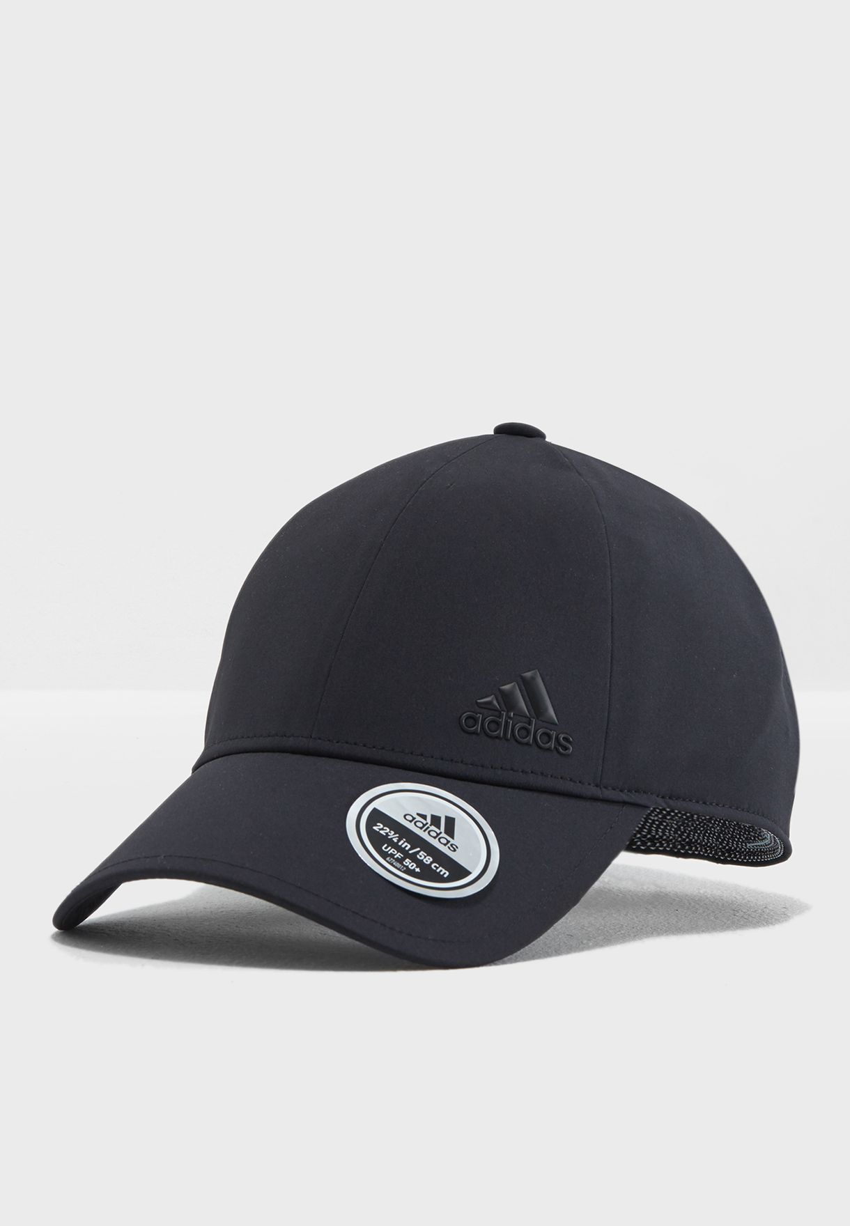 649a5ad891a4 Shop adidas black Bonded Logo Cap S97588 for Men in Kuwait ...