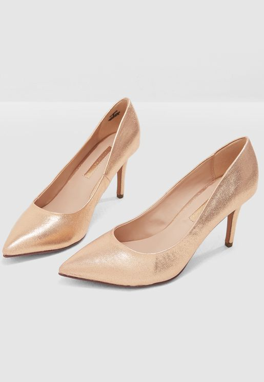 Enzo Heeled Pump