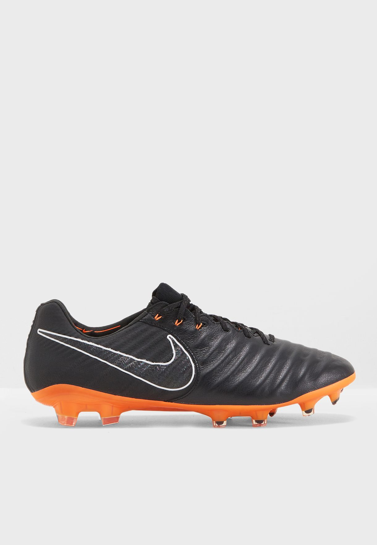 best website 371bc 90bc9 Shop Nike black Tiempo Legend 7 Elite FG AH7238-080 for Men in Oman -  NI727SH94PRD