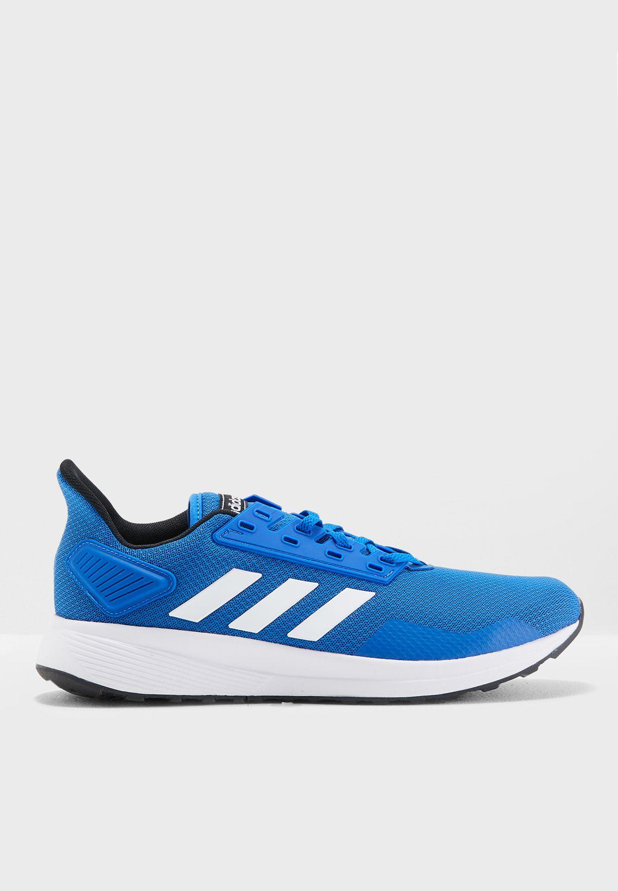 check out dd103 9f776 Shop adidas blue Duramo 9 BB7067 for Men in Saudi - AD476SH9
