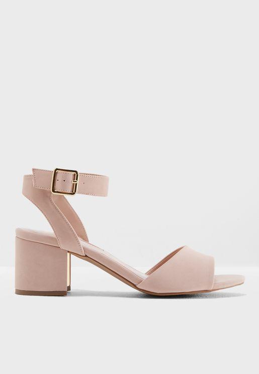 Sabrina Block Heel Sandals