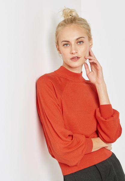 Cuffed Sleeve Sweatshirt