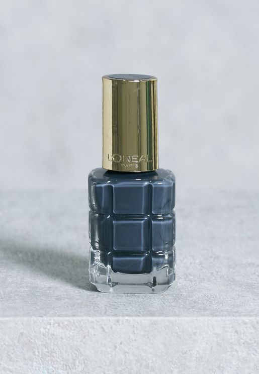 Color Riche Huile Nail Polish 672 Noir Oxyde