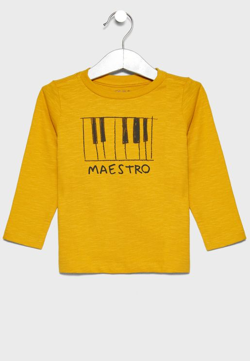 Infant Piano Maestro T-Shirt
