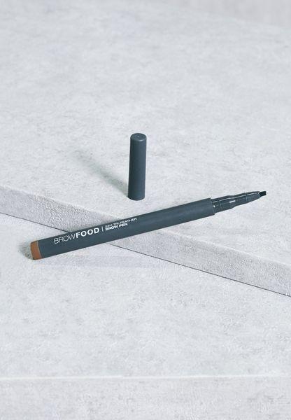 24H Tri-Feather Brow Pen - Dark Brunette