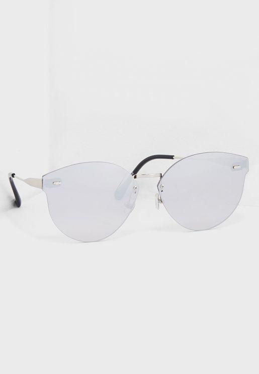 Reflective Frameless Sunglasses