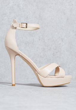 Dressy platform sandal