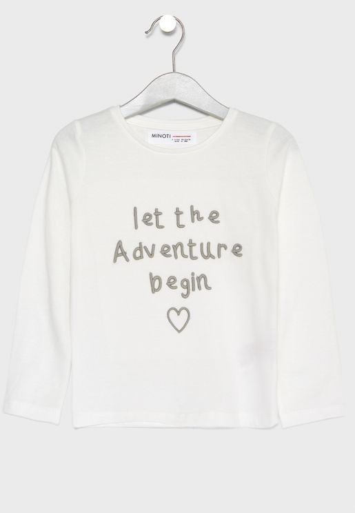 Little Slogan Top