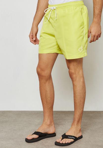 Drawstring Swimwear Shorts
