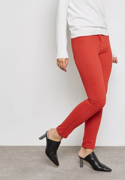 Eden Ultra Soft Coloured Skinny Jeans
