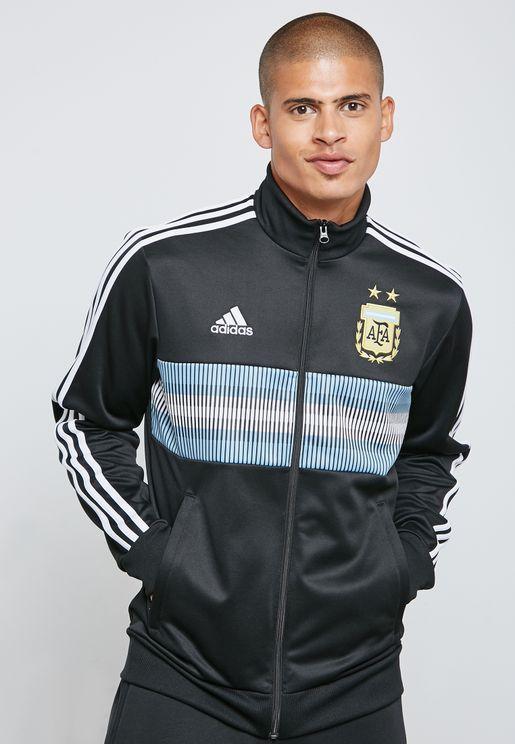 Argentina 3 Stripe Track Jacket
