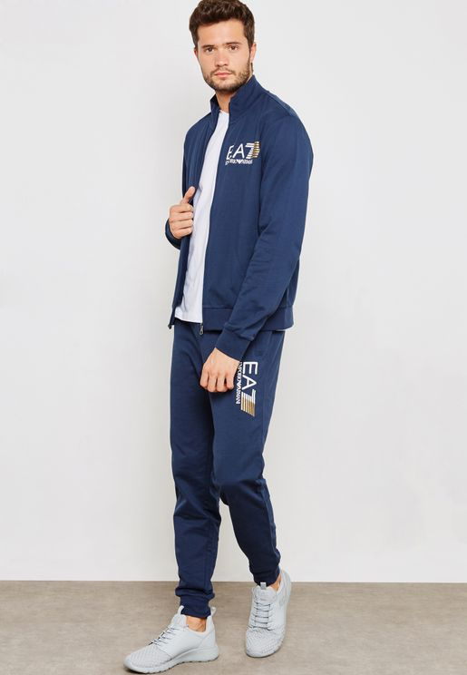 Train Visibility Track Jacket +Sweatpants