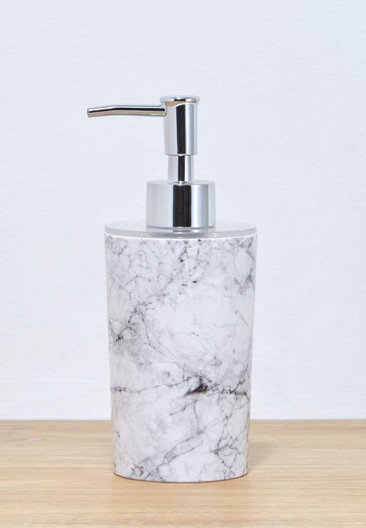 Marble Soap and Lotion Dispenser