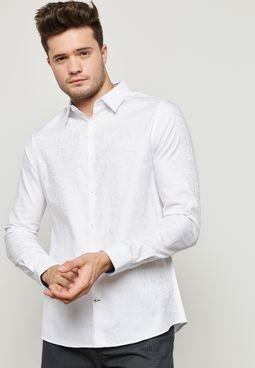 قميص بطبعات بيسلي