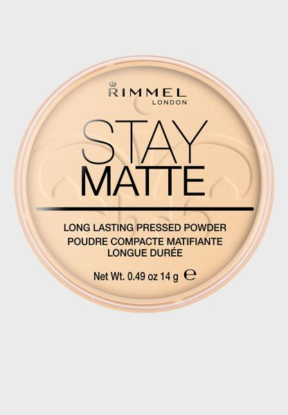 Stay Matte Pressed Powder - 001