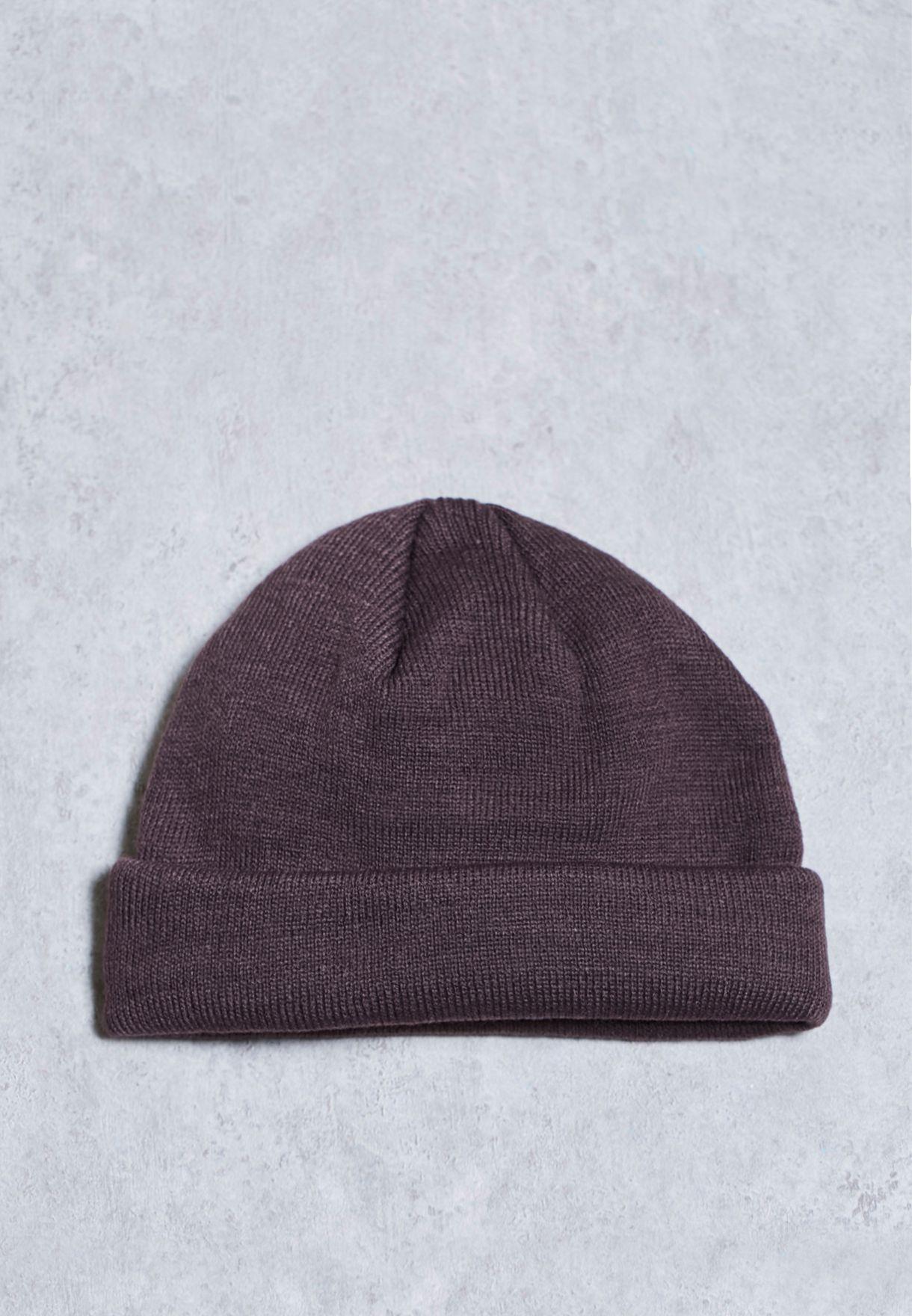 7eaba3c6808 Shop Topman burgundy Mini Fit Beanie Hat 56D55NBRG for Men in UAE -  TO857AC94ZKJ