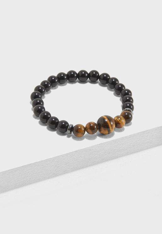 Sphere Beaded Bracelet
