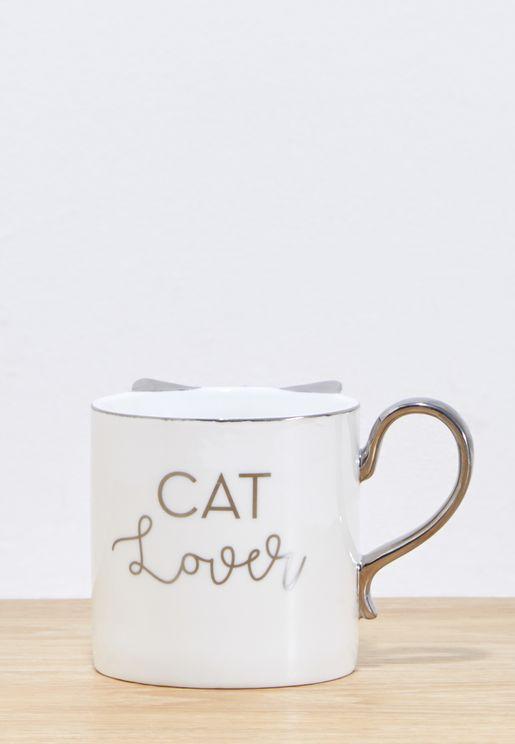 Cat Lover Mug 12oz