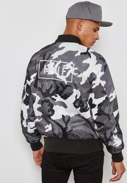 Standard Camo Print Jacket