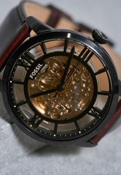 Shop Fossil Browns Townsman Automatic Watch Me3098 For Men