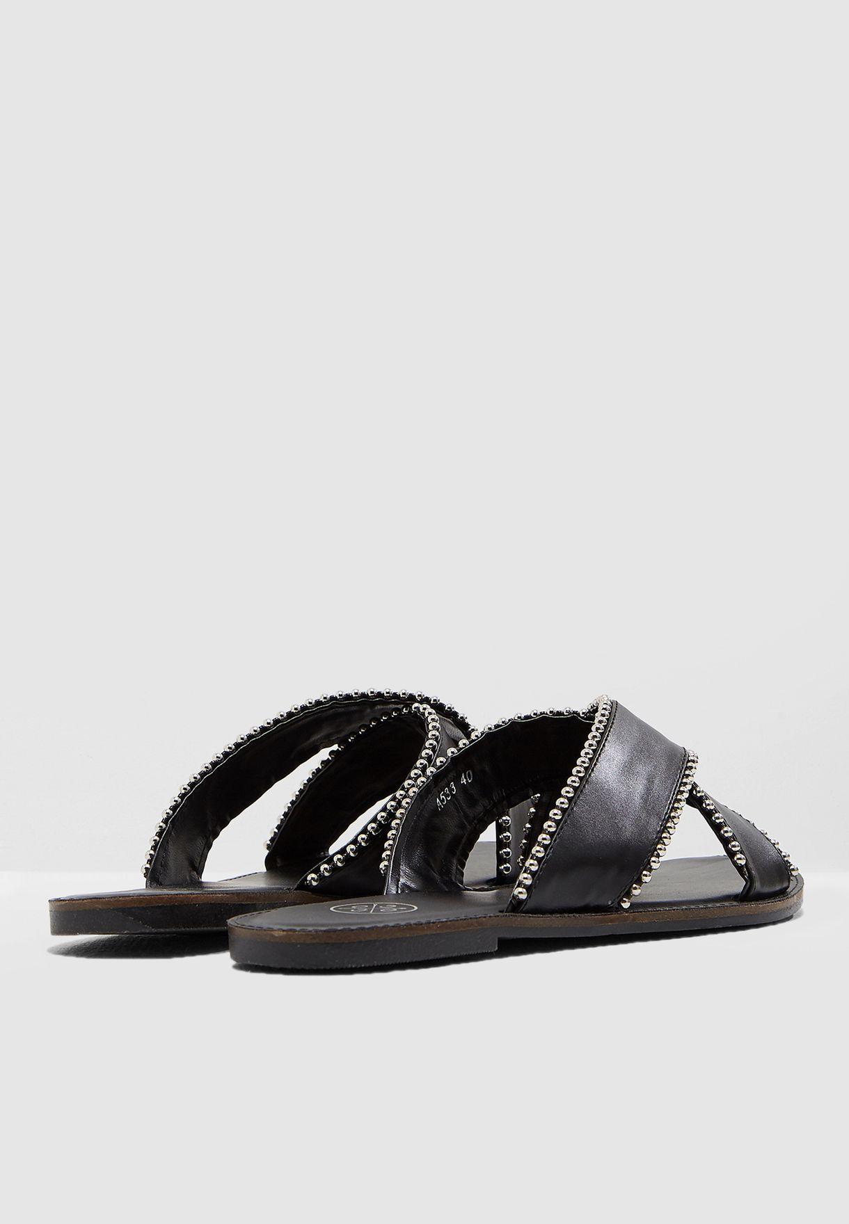 Anjali Studded Slides