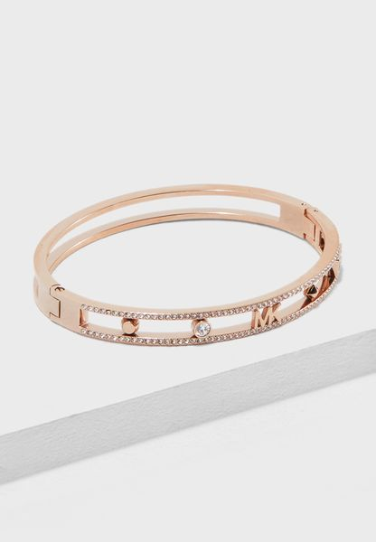 Michael Kors Women's Pink Bracelet MKJ7132791 37WGa12