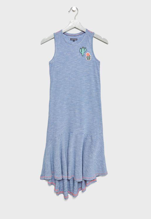 Teen High Low Dress
