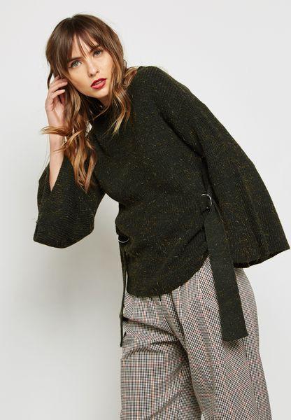 Metallic Textured Sweater
