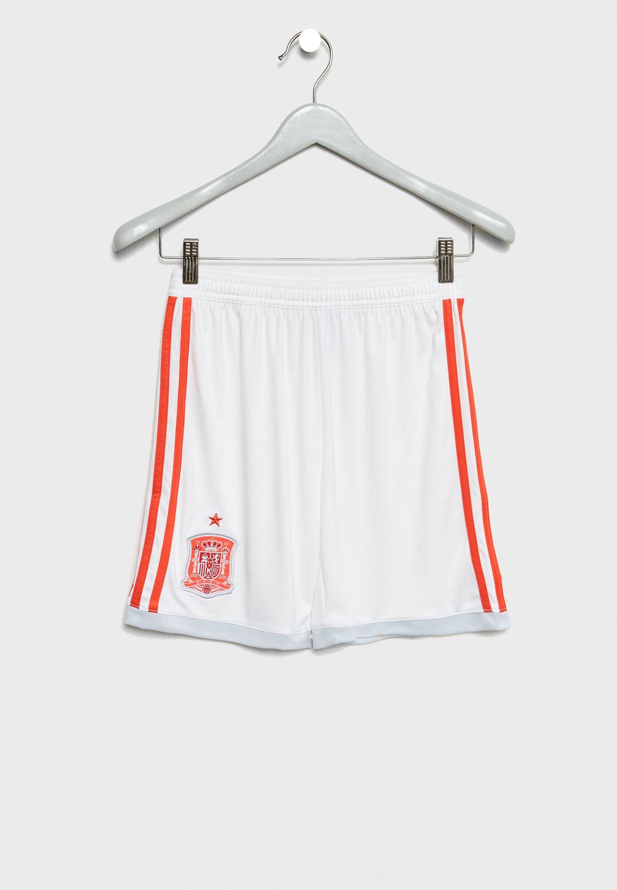 Youth Spain Away Replica Shorts