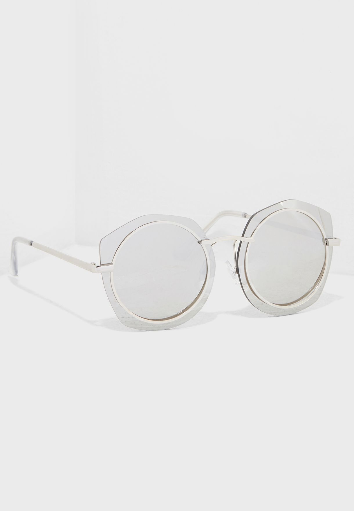 Mirror Octagon Sunglasses