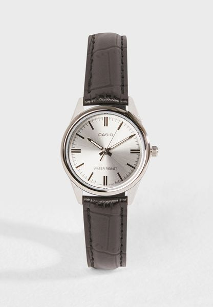LTP-V005L-7AUDF Analog Dress Watch