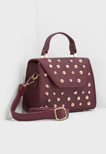 Pearl Scatter Satchel