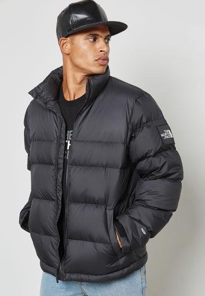 shop the north face black 1992 nuptse jacket not92zwe jk3. Black Bedroom Furniture Sets. Home Design Ideas