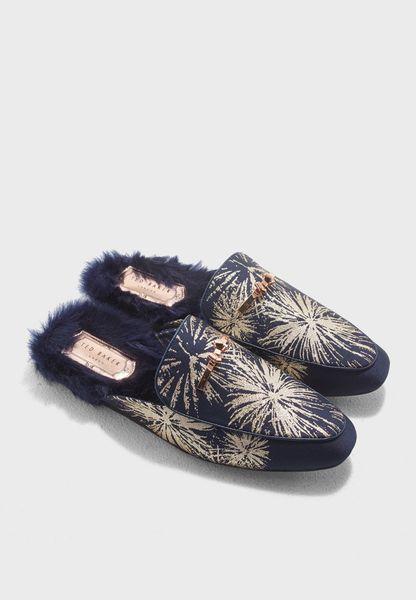 Kerriy Brocade Flat Shoe