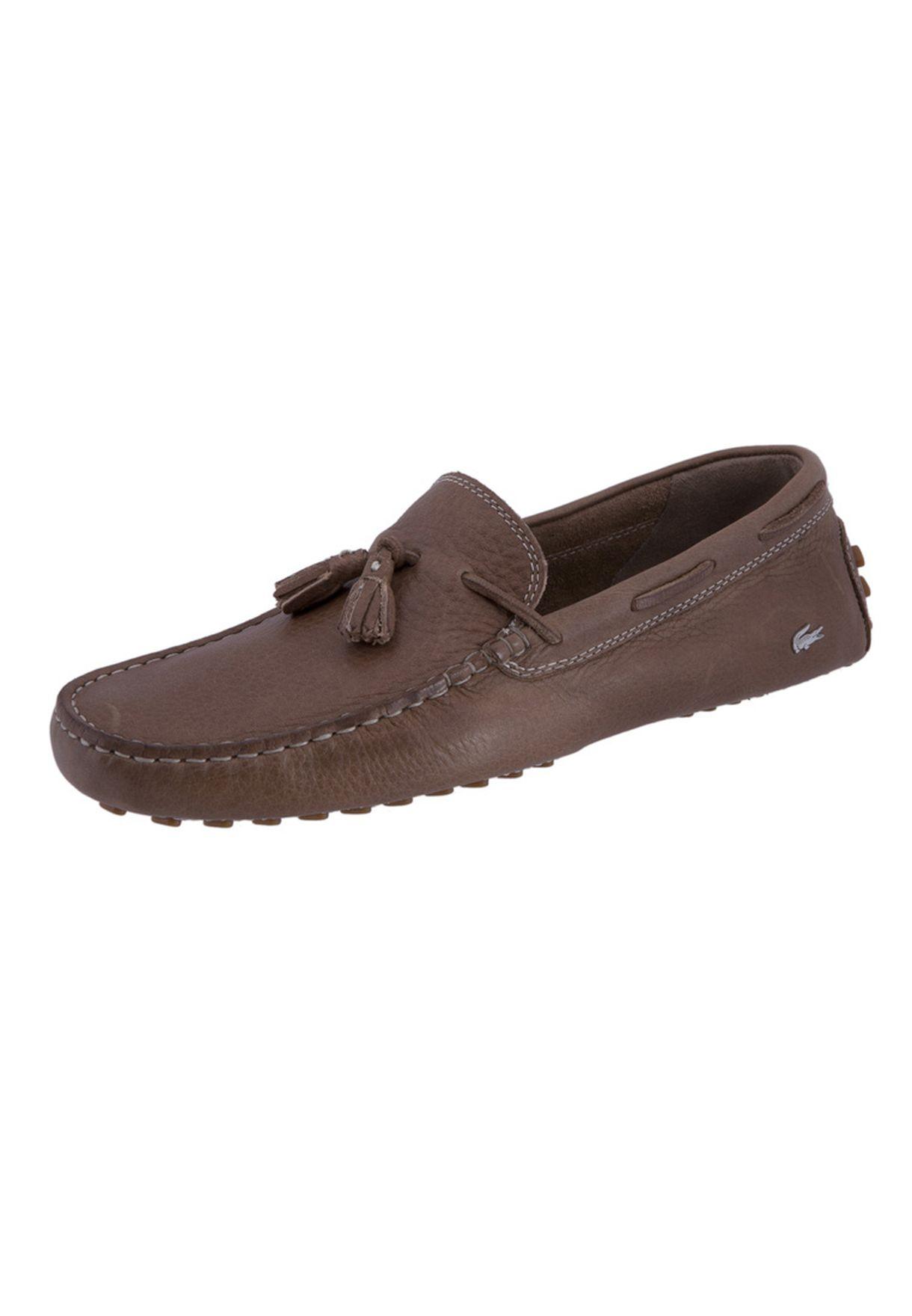 20cbe281d564c8 Shop Lacoste browns CONCOURS TASSLE 2 23CLM0004-158 for Men in UAE ...