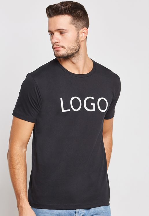 Logo Crew Neck T-Shirt