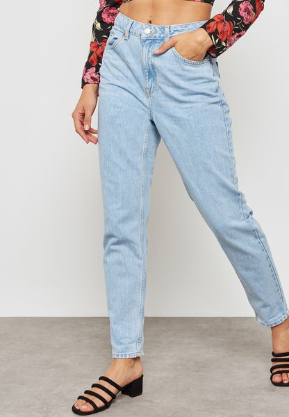 MOTO Mom High Rise Jeans