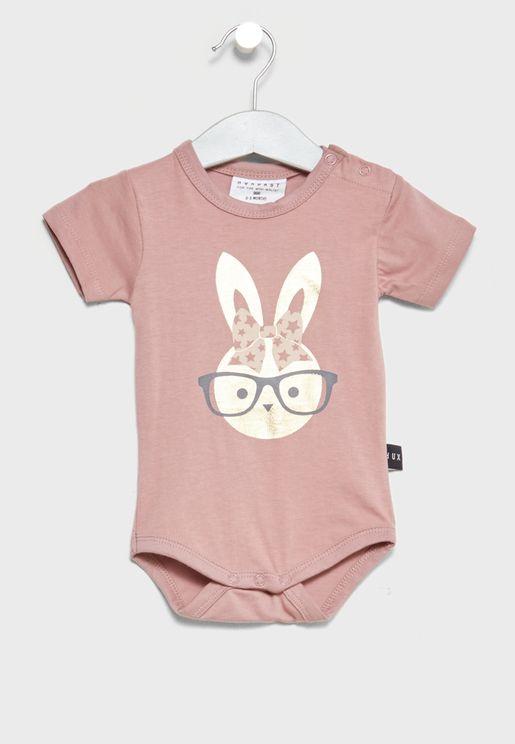 Infant Bunny Bodysuit