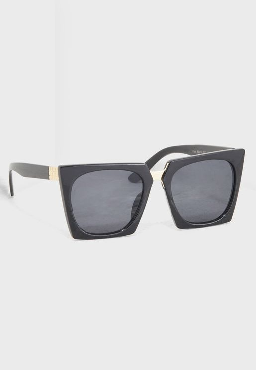 Square Pointed Sunglasses