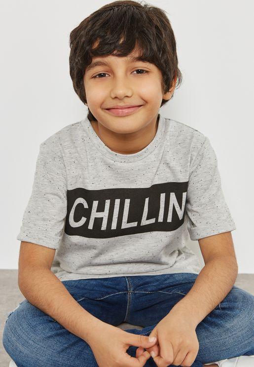 Teen Slogan T-Shirt