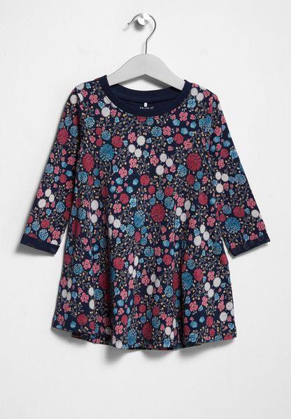 Infant Detimme Floral Dress