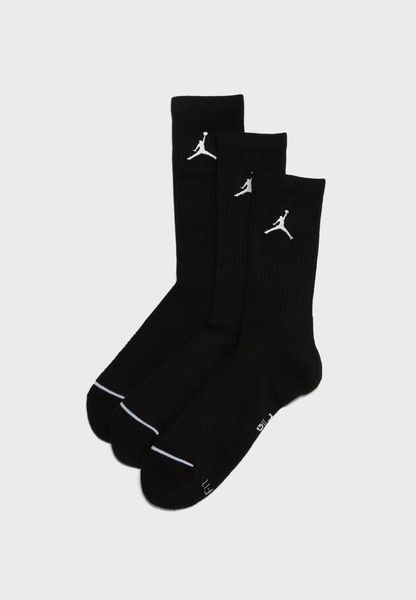 3 Pack Jumpman Crew Socks