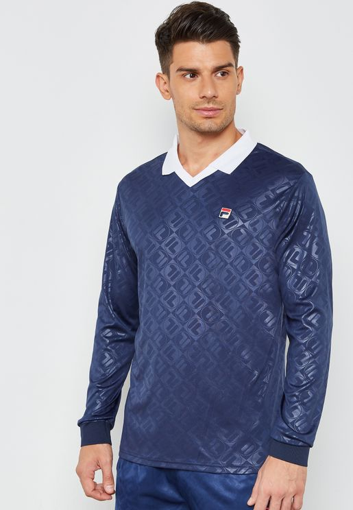 Carter Embossed Vintage Polo