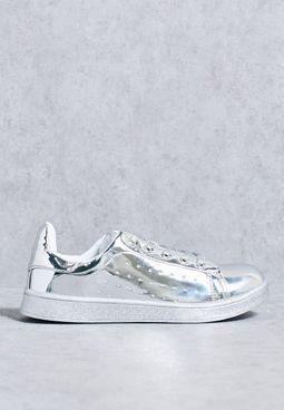 Metallic Sneakers
