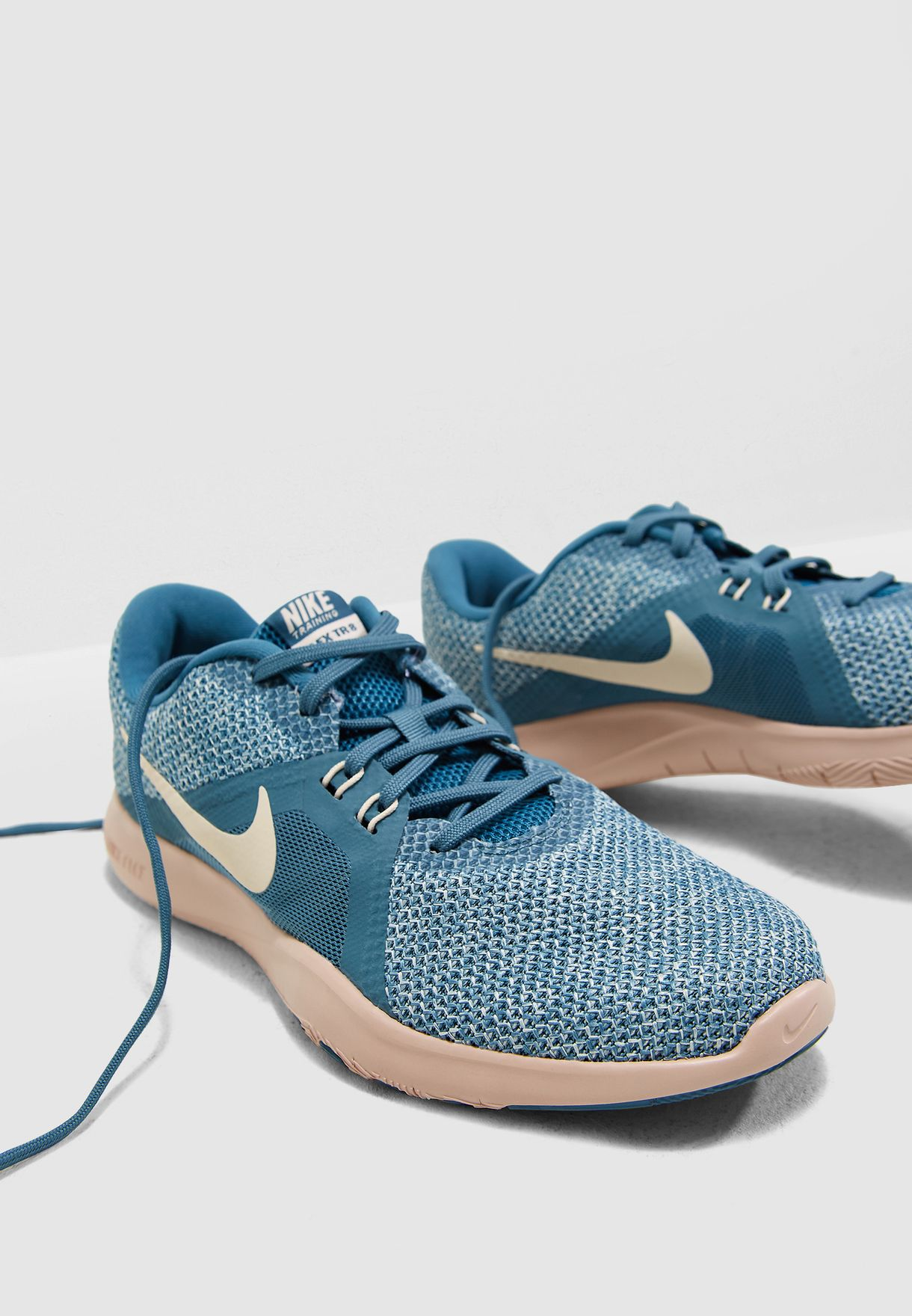 a0247cdd4a2fa Shop Nike multicolor Flex Trainer 8 924339-400 for Women in UAE ...