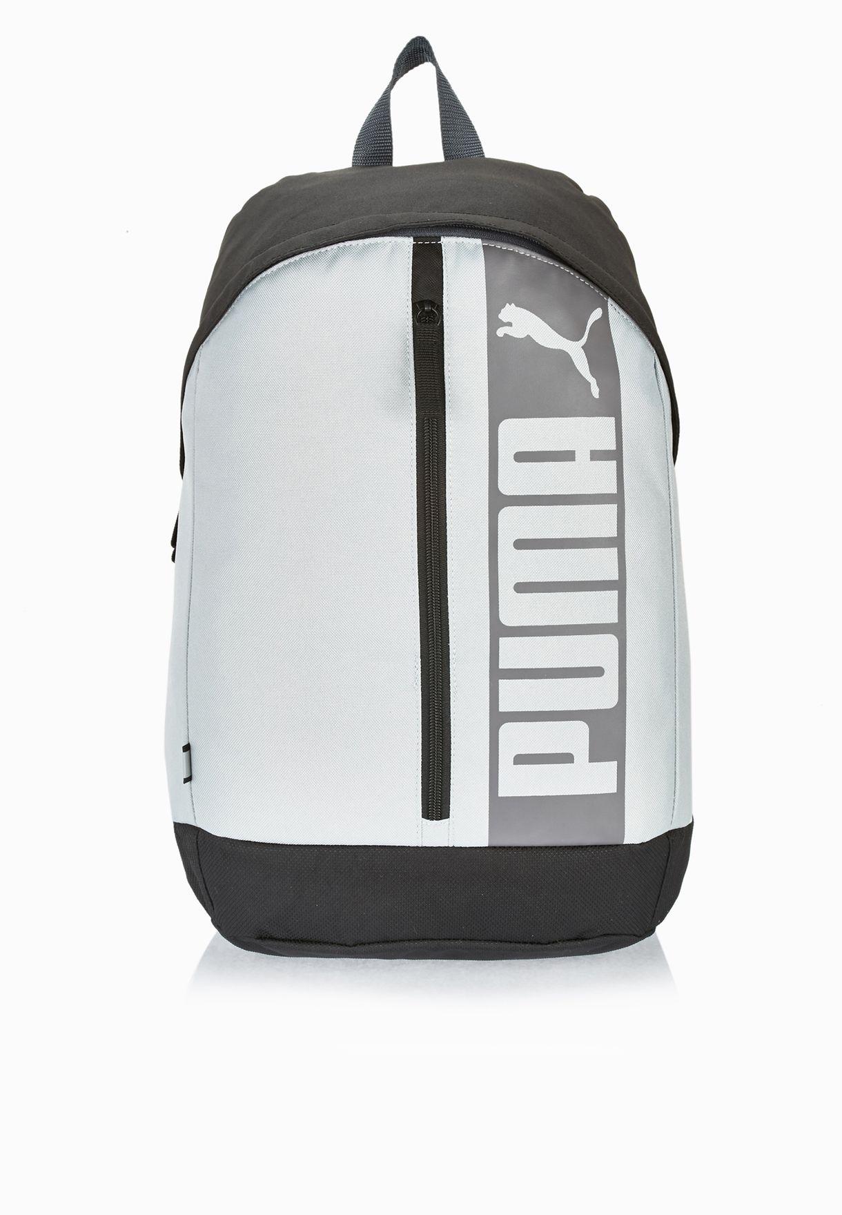 9b1573a62c Shop PUMA grey Pioneer Ii Backpack 07411502 for Men in Saudi - PU020AC84ZZF