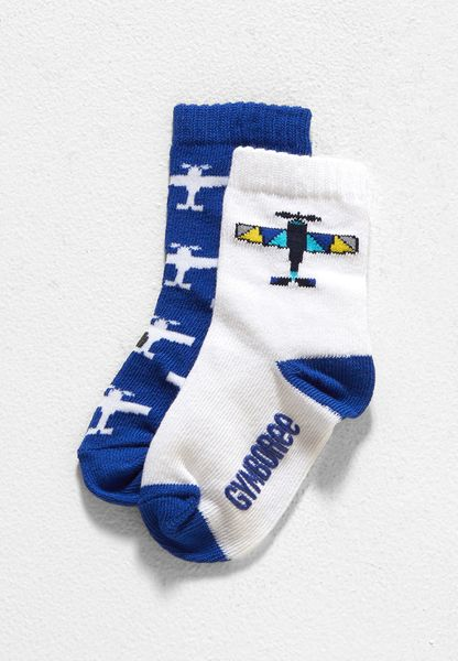 Kids Plane Socks