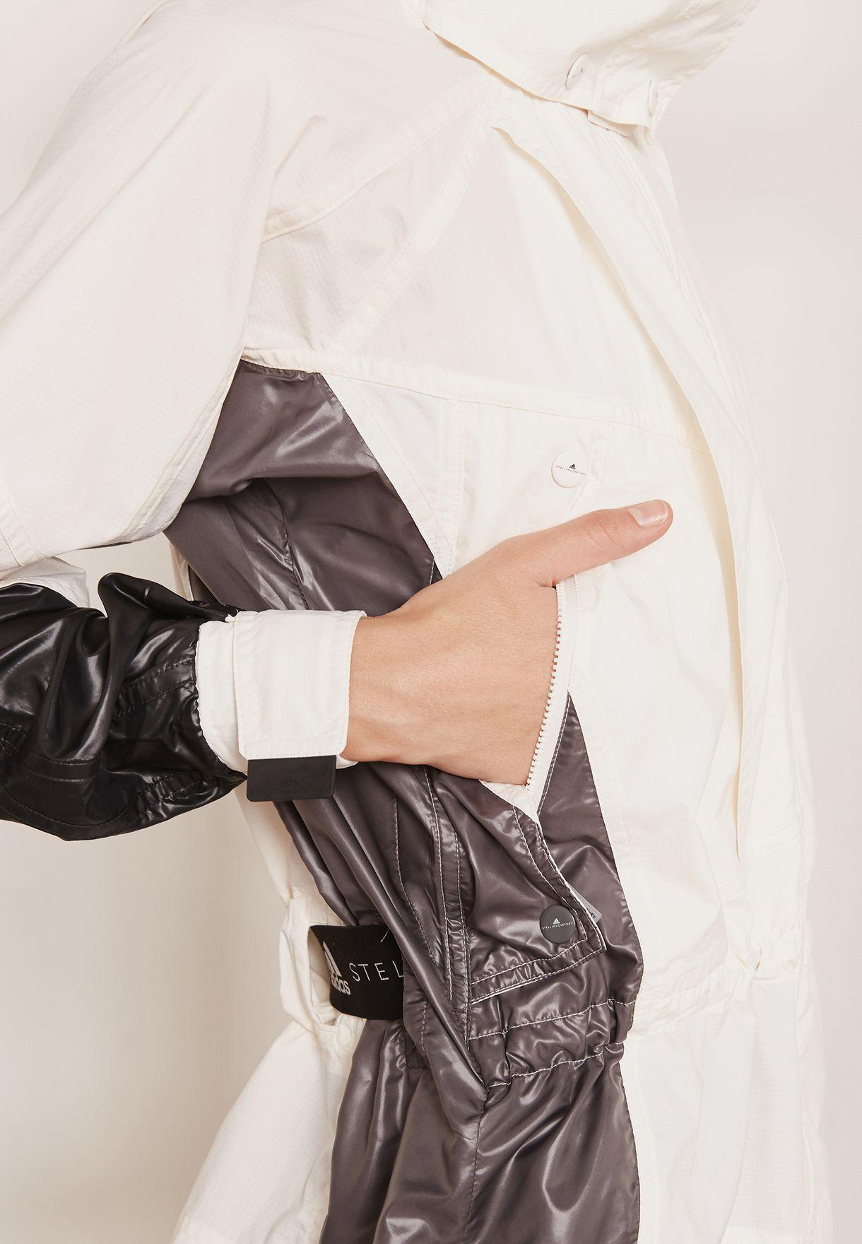 5c47f9e5c265f Shop adidas by Stella McCartney multicolor Run Ultra Jacket CZ3718 ...