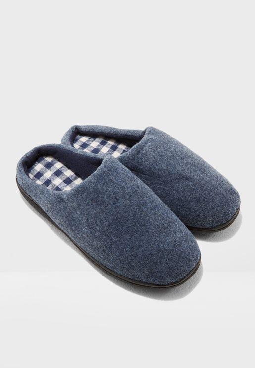 Fleece Bedroom Slippers